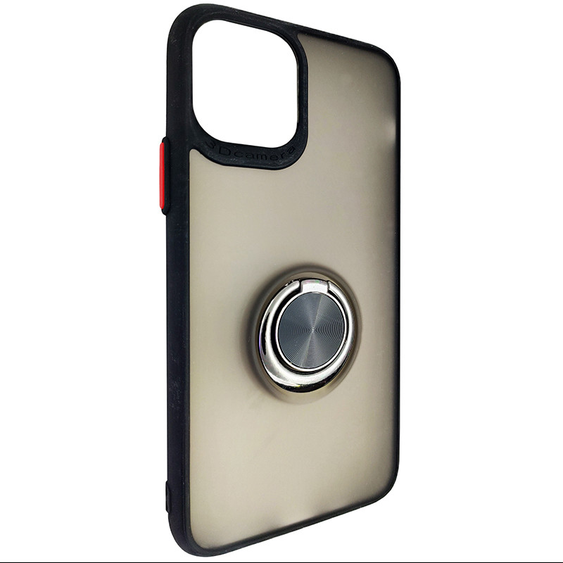 Чохол Totu Copy Ring Case iPhone 11 Pro Black+Red - 1