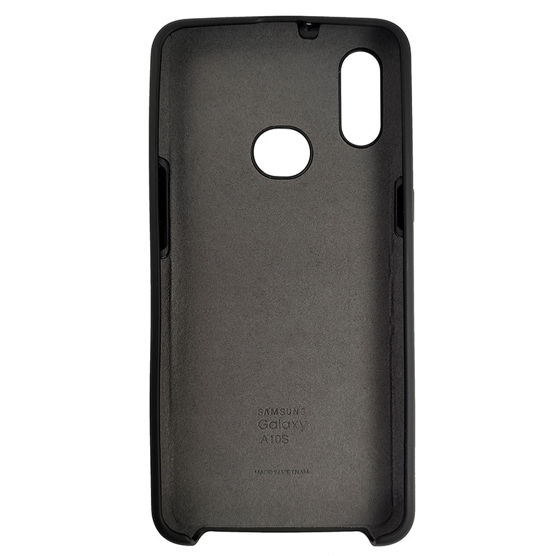 Чохол Silicone Case for Samsung A10s Black (18) - 3