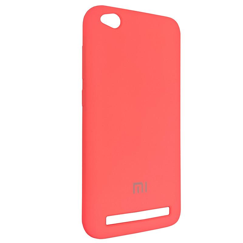 Чохол Silicone Case for Xiaomi Redmi 5A Peach Bl.Pink (29) - 2