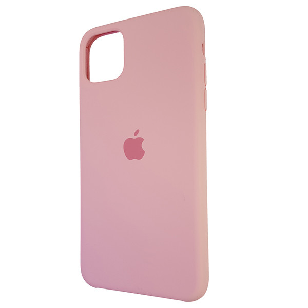 Чохол Copy Silicone Case iPhone 11 Pro Max Light Pink (6) - 2