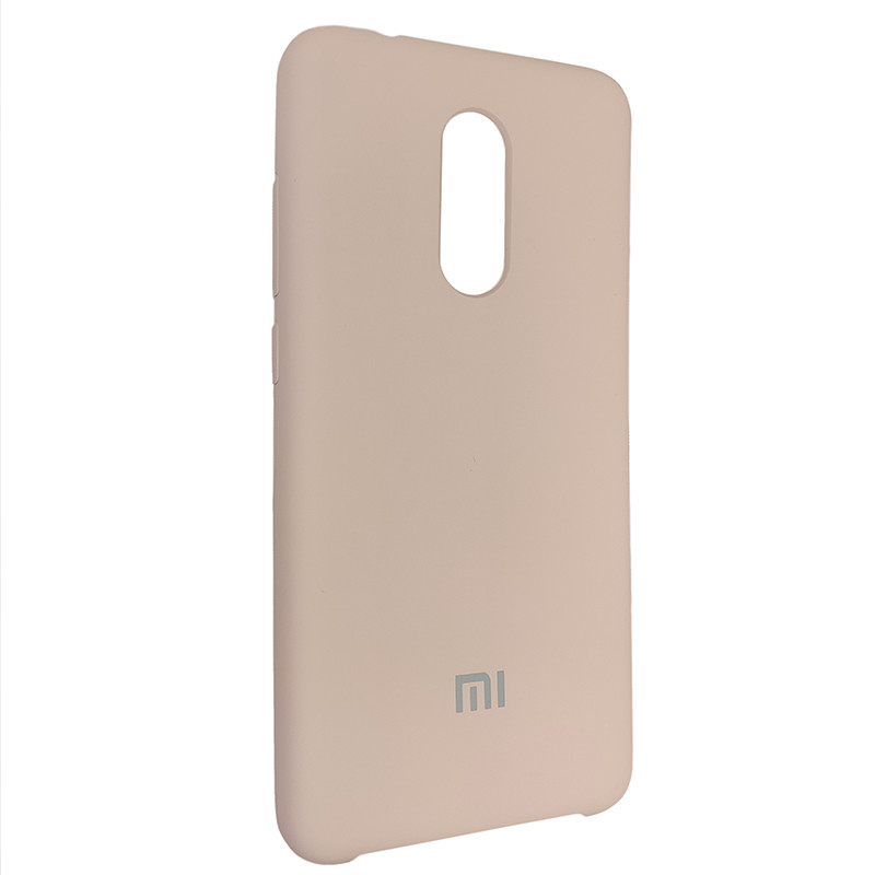 Чохол Silicone Case for Xiaomi Redmi 5 Sand Pink (19) - 2