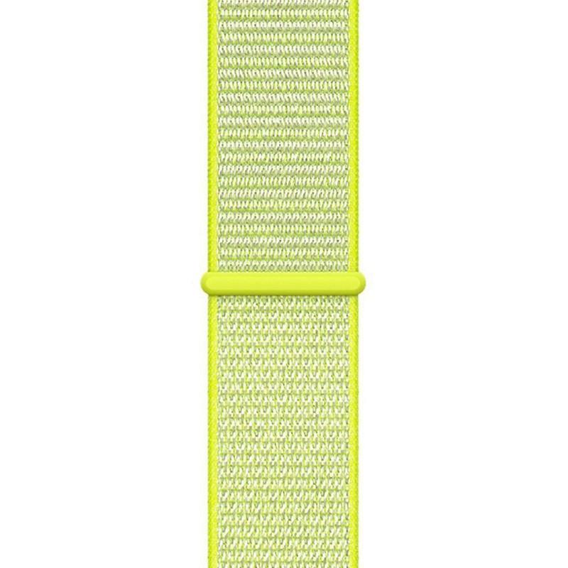 Ремінець для Apple Watch (42-44mm) Sport Loop Green - 1