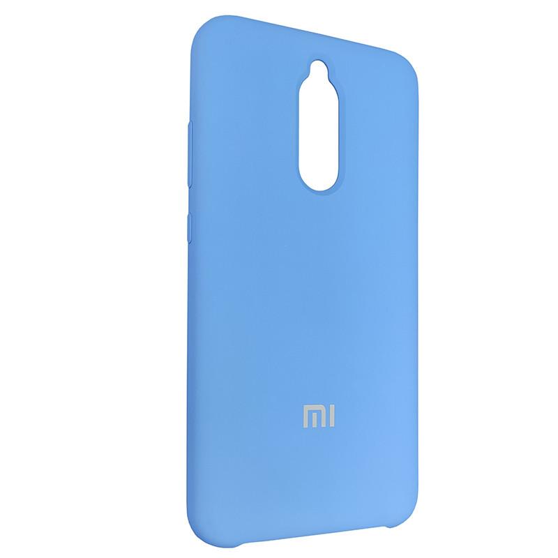Чехол Silicone Case for Xiaomi Redmi 8 Blue (3) - 2