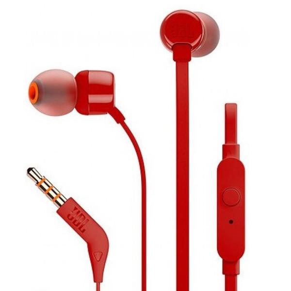 Гарнітура JBL T110 Red - 2