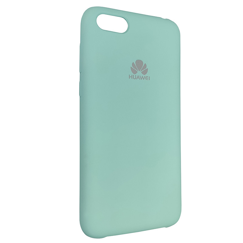 Чохол Silicone Case for Huawei Y5 Prime2018 Ice Sea Blue (21) - 2