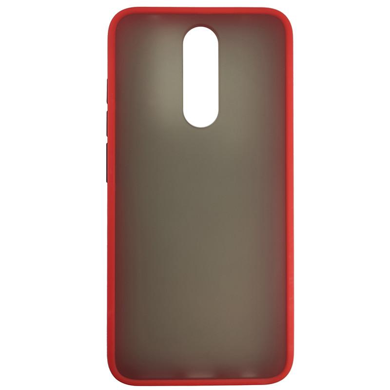 Чохол Totu Copy Gingle Series for Xiaomi 8 Red+Black - 2