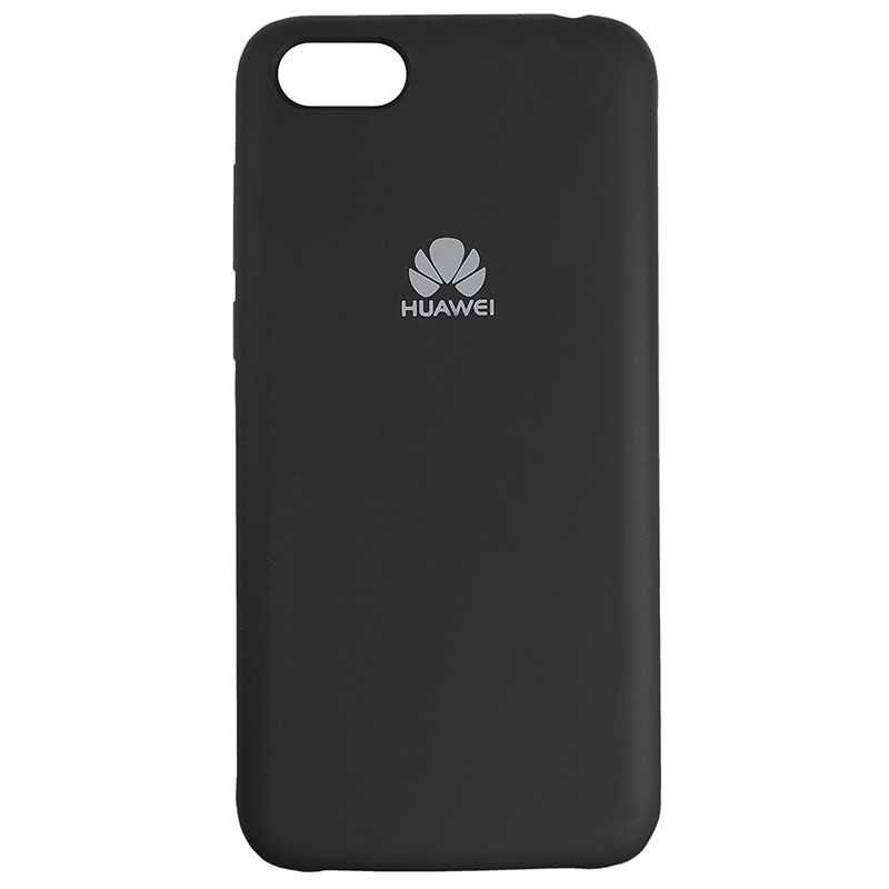 Чохол Silicone Case for Huawei Y5 Prime2018 Black (18) - 1