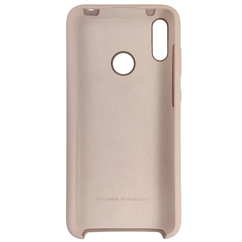 Чохол Silicone Case for Huawei Y7 2019 Sand Pink (19) - 3