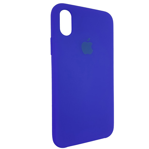 Чохол Copy Silicone Case iPhone X/XS Blue (40) - 1