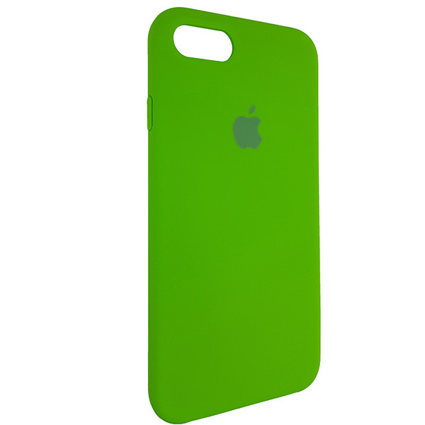 Чохол Copy Silicone Case iPhone 7/8 Green (31) - 1