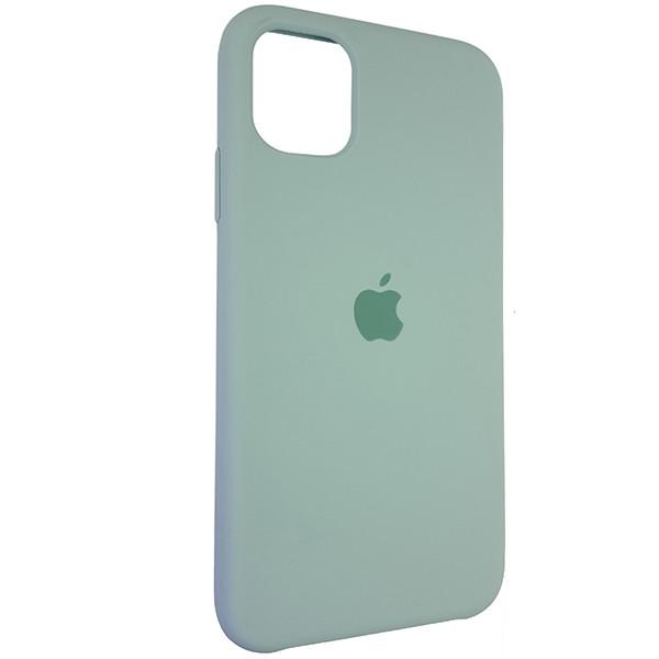 Чохол Copy Silicone Case iPhone 11 Pro Mist Green (17) - 1
