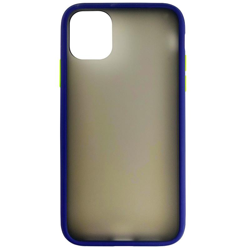 Чохол Totu Copy Gingle Series for iPhone 11 Blue+Light Green - 3