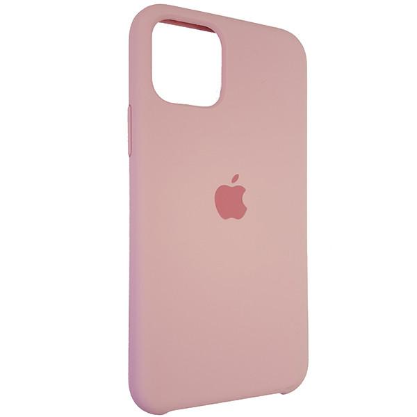 Чохол Copy Silicone Case iPhone 11 Pro Light Pink (6) - 1