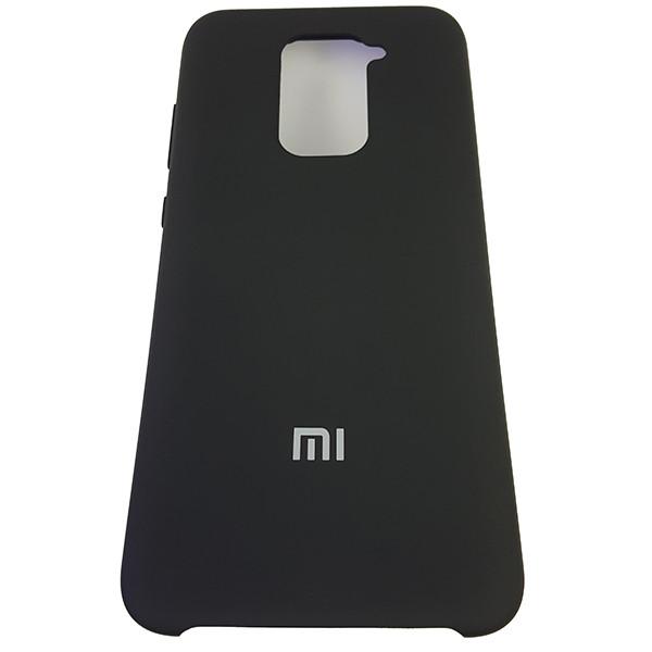 Чохол Silicone Case for Xiaomi Redmi Note 9 Black (18) - 4
