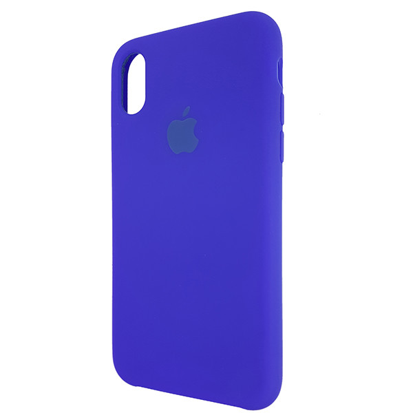 Чохол Copy Silicone Case iPhone X/XS Blue (40) - 2