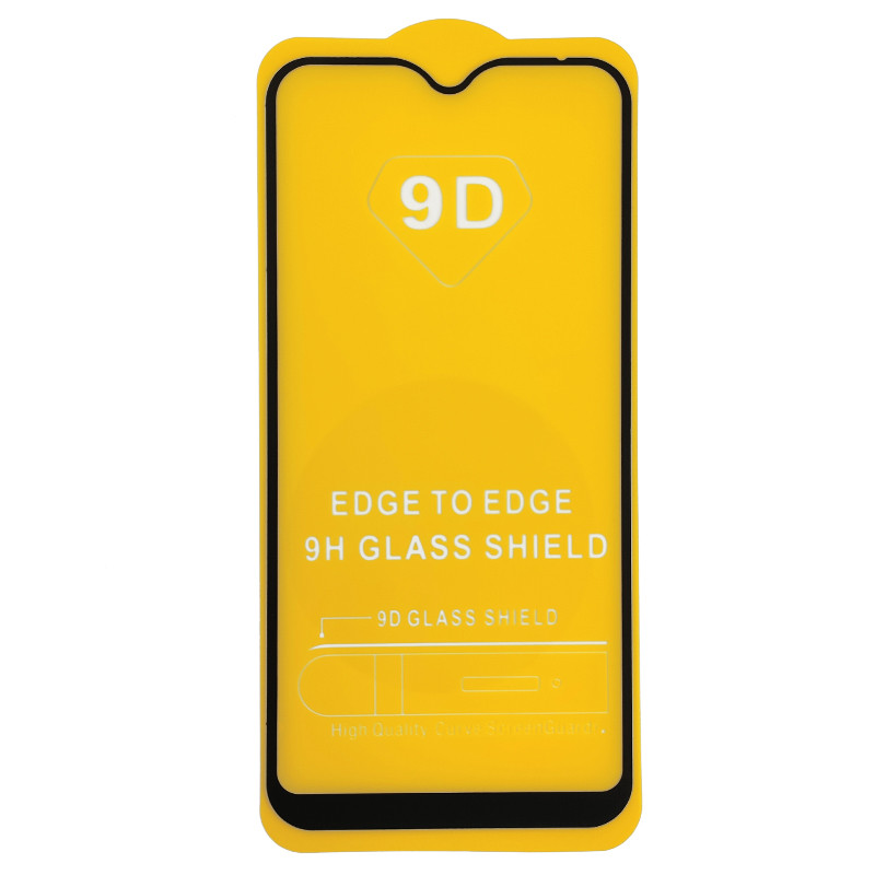 Захисне скло Full Glue Exclusive для Apple Iphone X  - (0,2mm) Black - 1