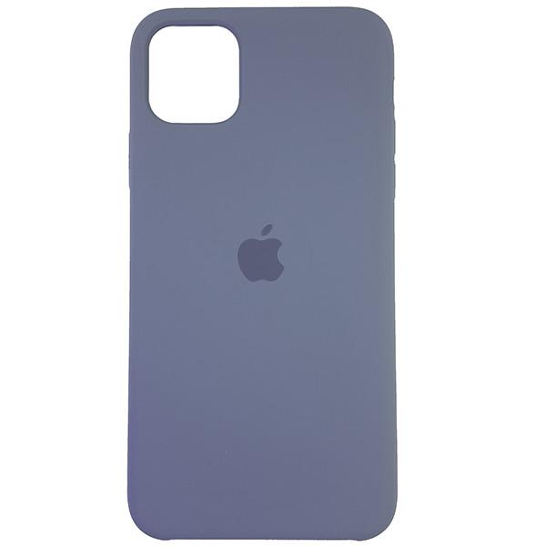 Чохол Copy Silicone Case iPhone 11 Pro Max Gray (46) - 3