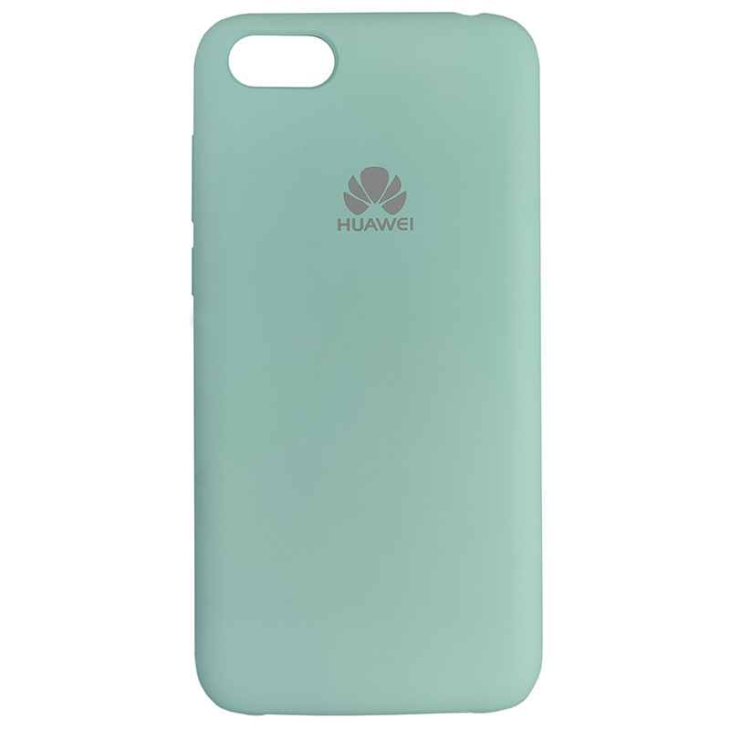 Чохол Silicone Case for Huawei Y5 Prime2018 Ice Sea Blue (21) - 1