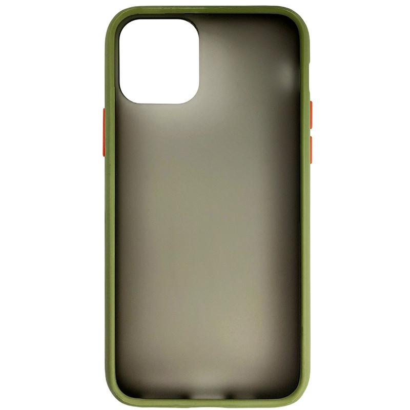 Чохол Totu Copy Gingle Series for iPhone 11 Pro Dark Green+Orange - 3