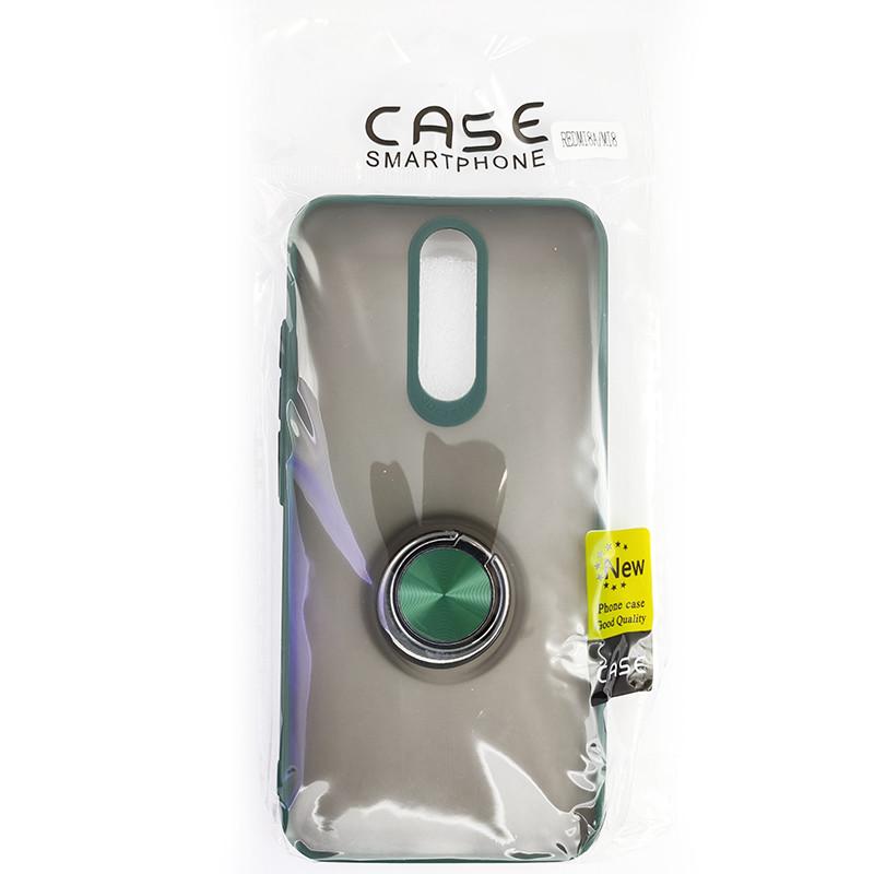 Чохол Totu Copy Ring Case Xiaomi Redmi 8/8A Green+Black - 5