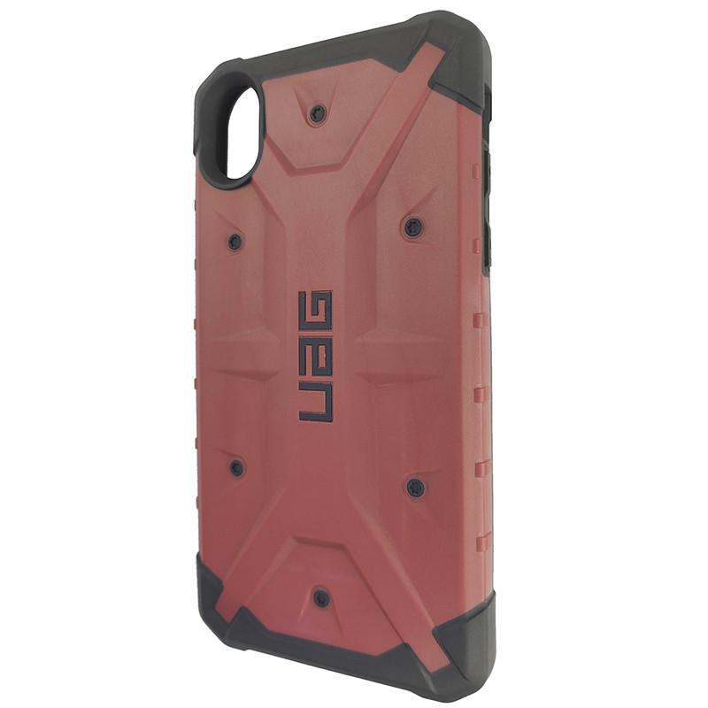 Чохол UAG Pathfinder iPhone XR Wine Red (HC) - 1