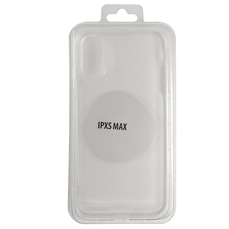Чохол Molan Cano Hard Silicone Clear Case iPhone XS Max - 1