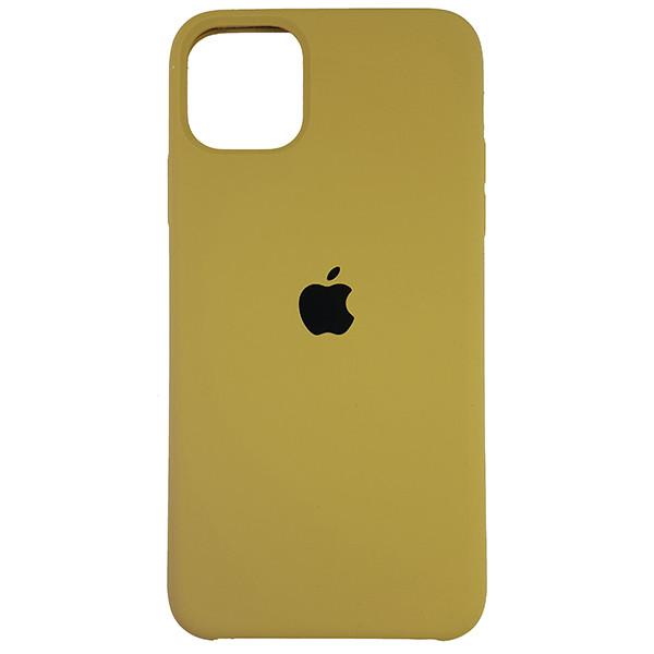 Чехол Copy Silicone Case iPhone 11 Pro Max Gold (28) - 3