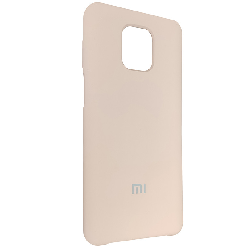 Чохол Silicone Case for Xiaomi Redmi Note 9S/9 Pro Sand Pink (19) - 2