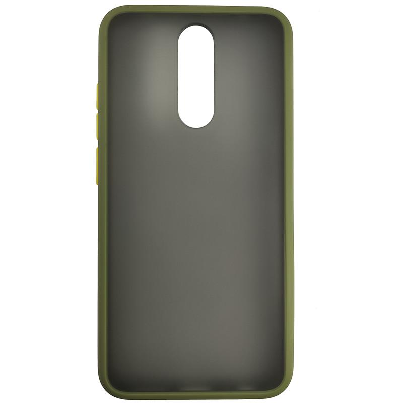 Чохол Totu Copy Gingle Series for Xiaomi 8 Green+Yellow - 2