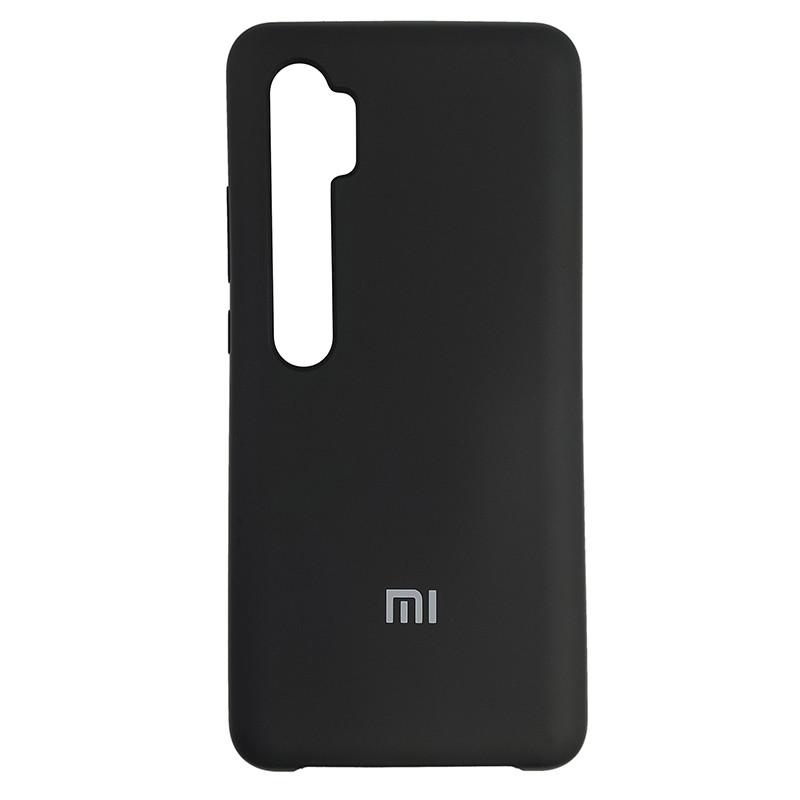 Чохол Silicone Case for Xiaomi Mi Note 10 Black (18) - 1