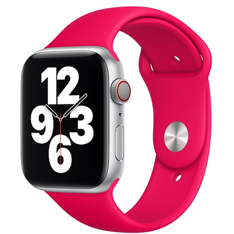 Ремінець для Apple Watch (38-40mm) Sport Band Hot Pink (47)  - 2