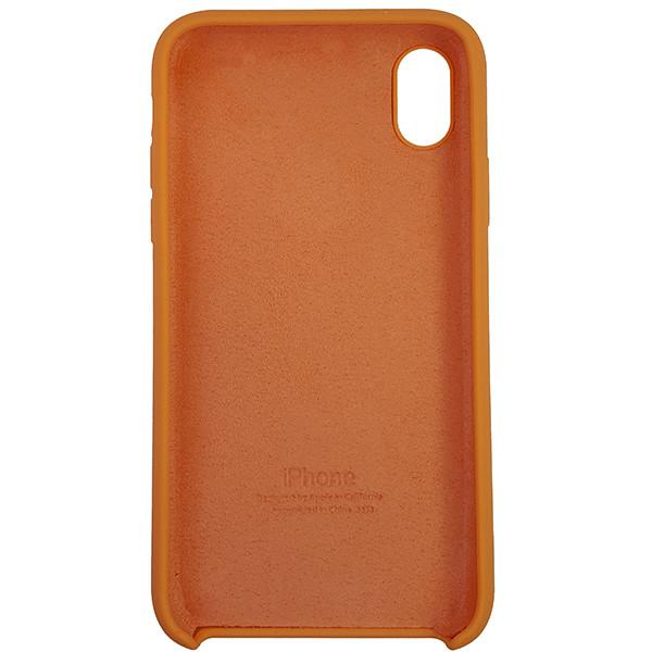 Чохол Copy Silicone Case iPhone XR Papaya (56) - 4