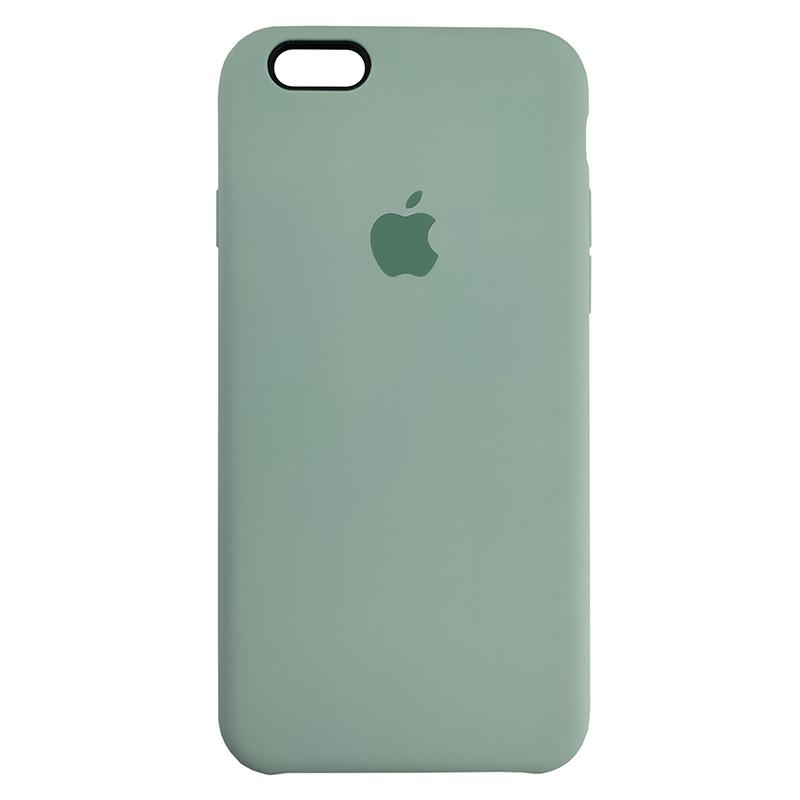 Чохол Copy Silicone Case iPhone 6 Mist Green (17) - 2