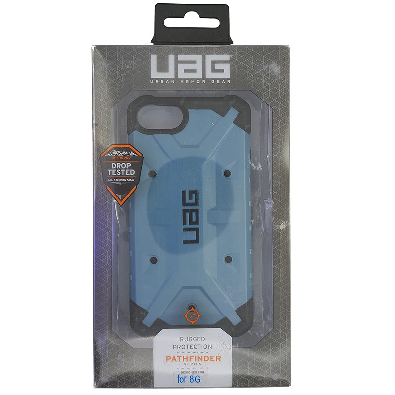 Чохол UAG Pathfinder iPhone 7/8 Dark Blue (HC) - 5