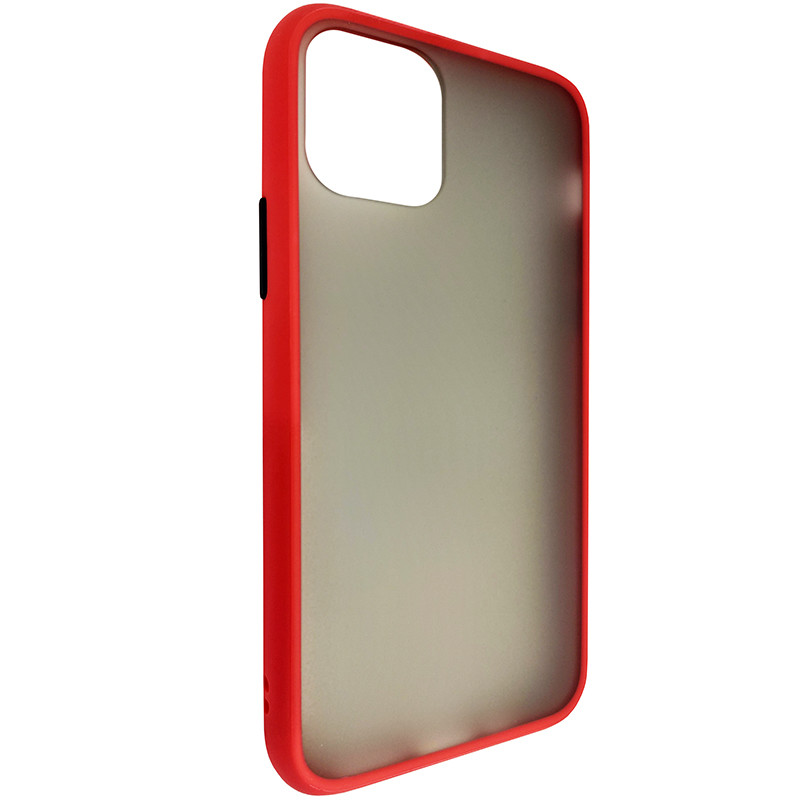 Чохол Totu Copy Gingle Series for iPhone 11 Pro Red+Black - 1