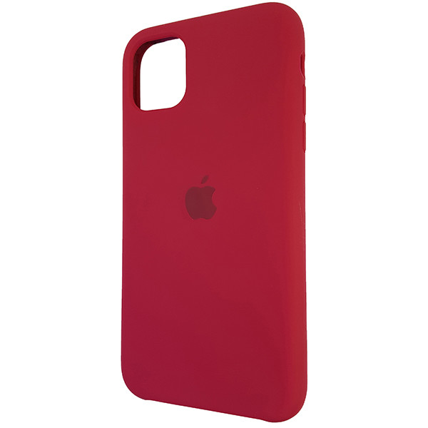 Чохол Copy Silicone Case iPhone 11 Rose Red (36) - 2