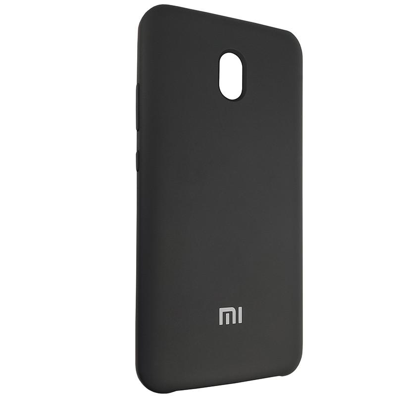 Чохол Silicone Case for Xiaomi Redmi 8A Black (18) - 2
