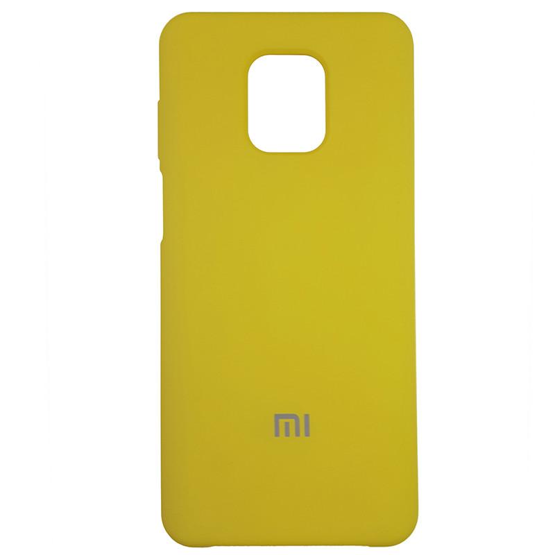 Чохол Silicone Case for Xiaomi Redmi Note 9S/9 Pro Yellow (4) - 1