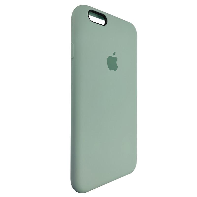 Чохол Copy SiliconeCase iPhone 6 Mist Green (17) - 1