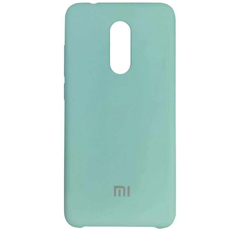Чохол Silicone Case for Xiaomi Redmi 5 Sea Blue (20) - 1