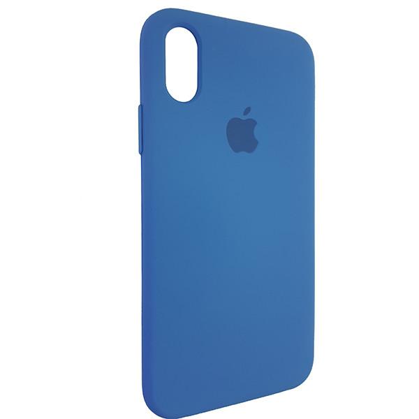 Чохол Copy Silicone Case iPhone X/XS Azure (24) - 2