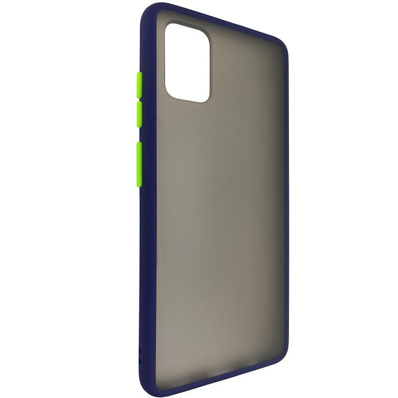 Чохол Totu Copy Gingle Series for Samsung A51/M40S Blue+Light Green - 1