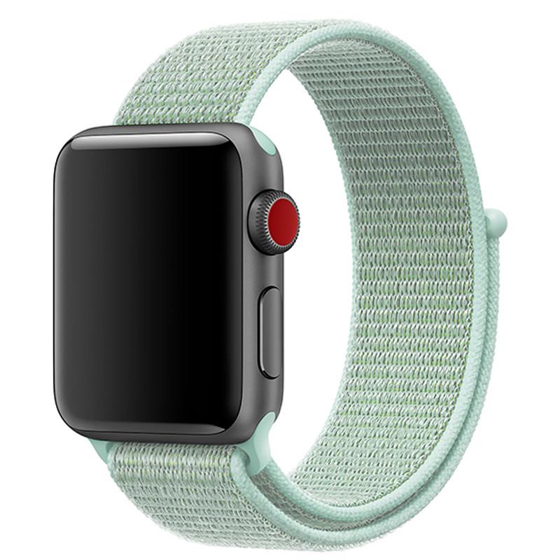 Ремінець для Apple Watch (38-40mm) Sport Loop Ocean Blue - 2