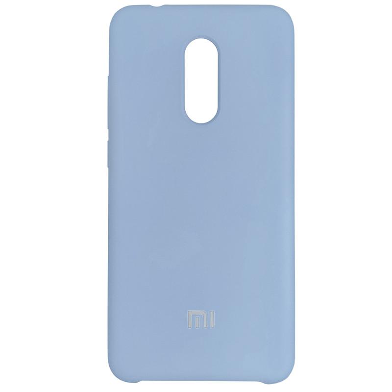 Silicone Case for Xiaomi Redmi 5 Blue (24) - 1