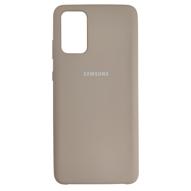 Чохол Silicone Case for Samsung S20 Plus Sand Pink (19) - 1