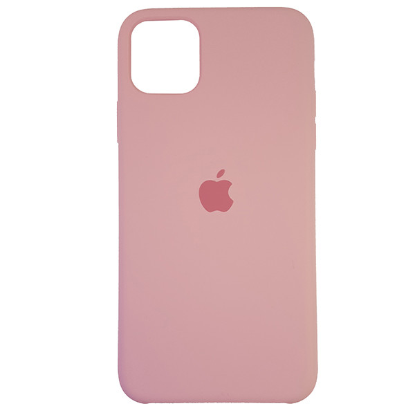 Чохол Copy Silicone Case iPhone 11 Pro Max Light Pink (6) - 3