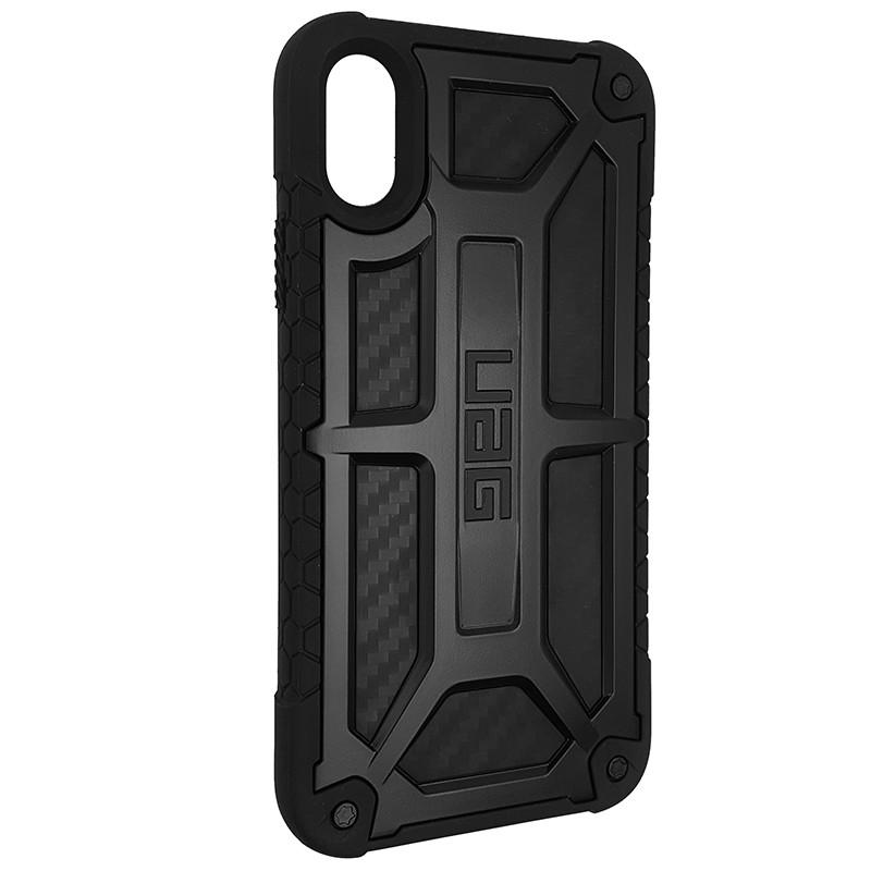 Чохол UAG Monarch iPhone X/XS Black (HC) - 2