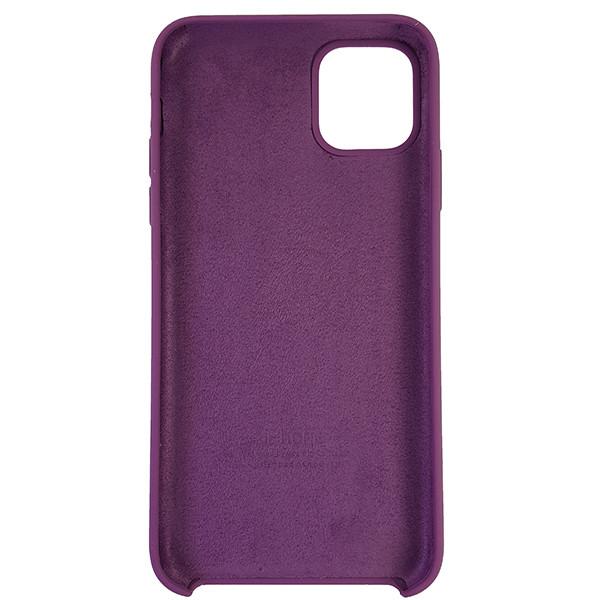 Чохол Copy Silicone Case iPhone 11 Pro Max Purpule (45) - 4
