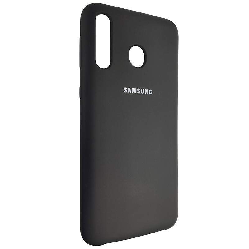 Чохол Silicone Case for Samsung M30 Black (18) - 2