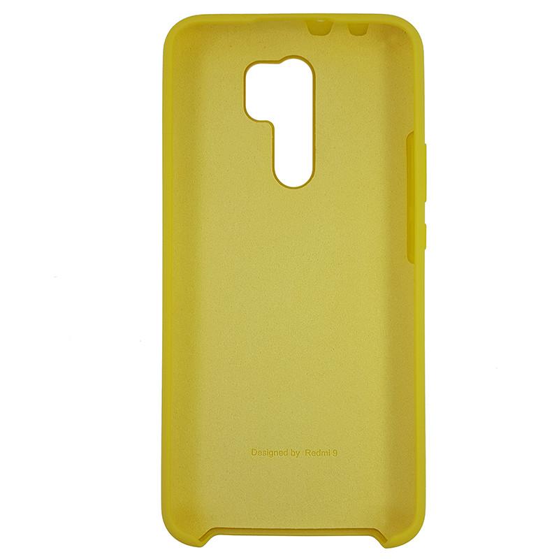 Чохол Silicone Case for Xiaomi Redmi 9 Yellow (4) - 3